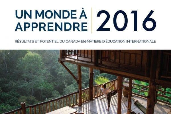 Le Bureau canadien de l'éducation internationale (BCEI) lance un rapport de situation sur les résultats du Canada en matière d'éducation internationale
