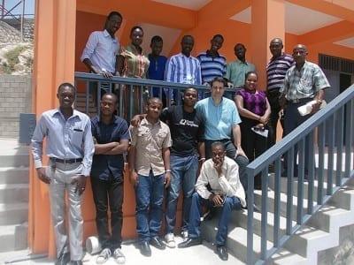 étudiants du CCNB en Haiti