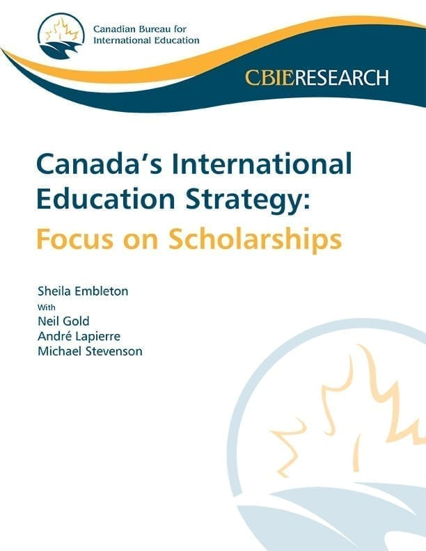 Canada's International Education Strategy: Focus on Scholarships