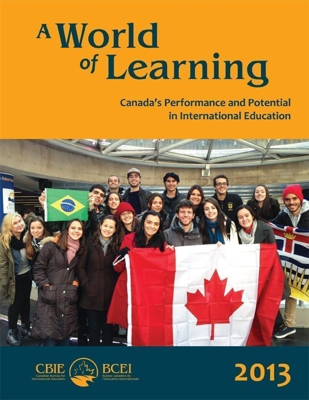 A World of Learning: Canada's Performance and Potential in International Education 2013