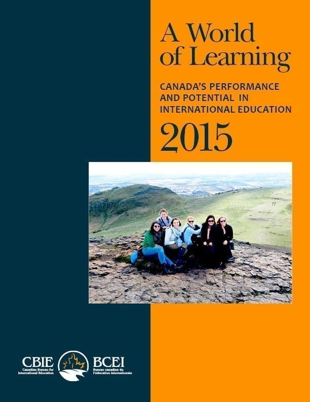 A World of Learning: Canada's Performance and Potential in International Education