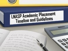 LNASP Academic Placement Guidelines