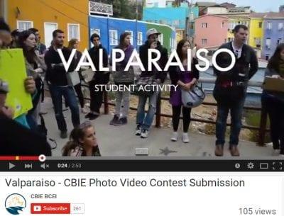 Valparaiso student art video screenshot
