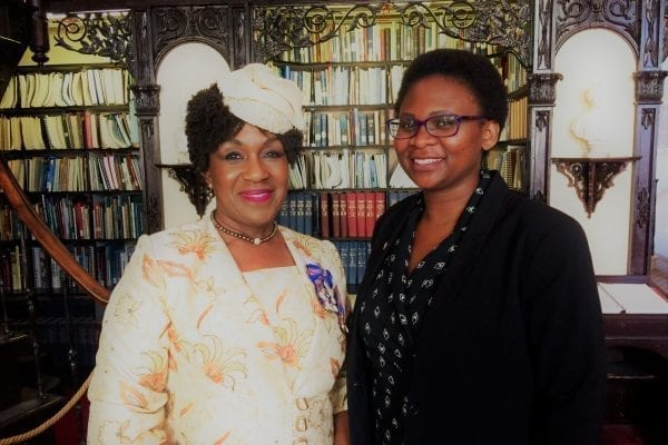 Irina-with-Hon-Mayann-Francis-at-Parliament-Library