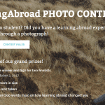 Tell us your learning abroad story through a photograph