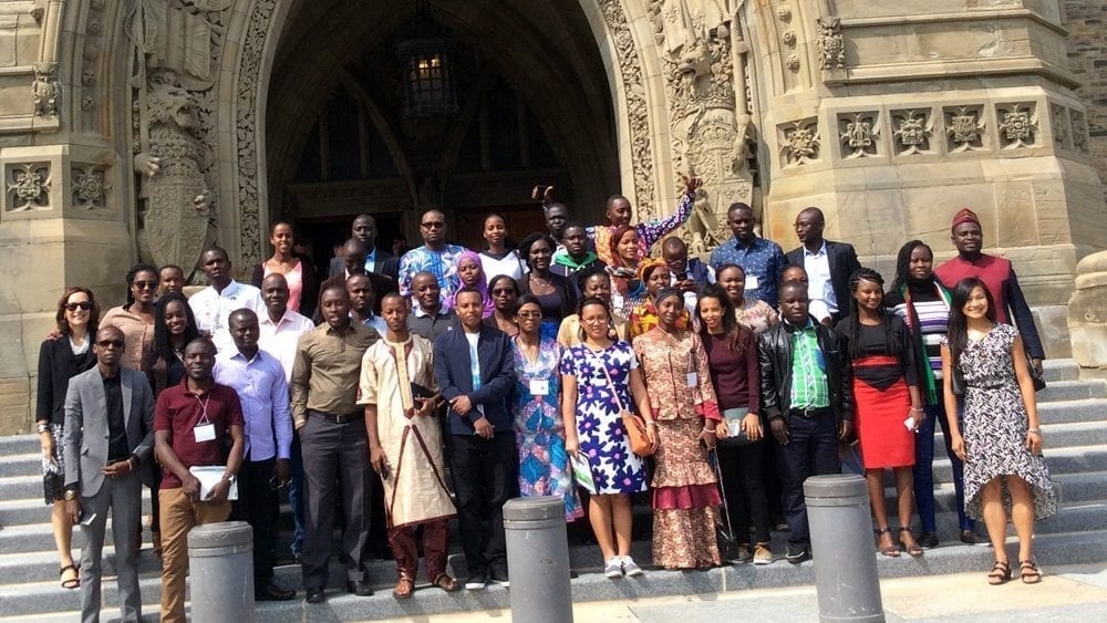 african scholars arrive in canada to build their capacity in public