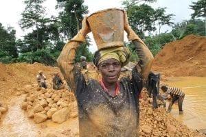 Artisanal gold miner, Ghana