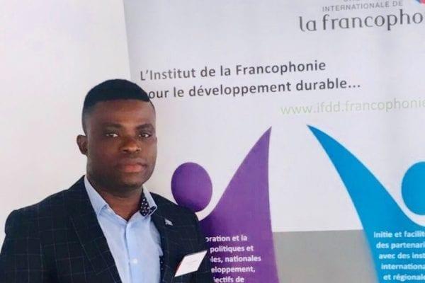 Amen Tchenagni est un boursier du programme LAD originaire du Bénin.