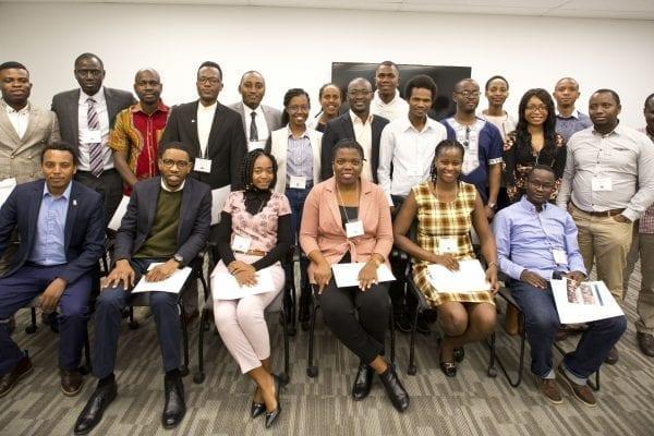 Les organismes partenaires et la communauté diplomatique célèbrent les Leaders africains de demain