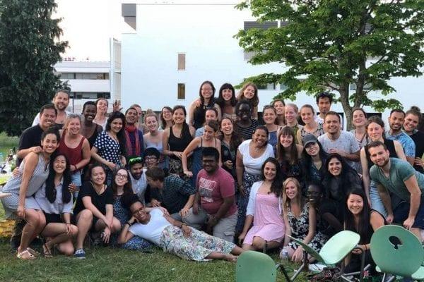 Erasmus Mundus students