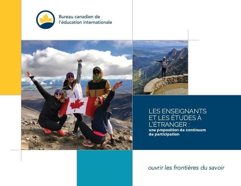 Les enseignants et les études à l'étranger : une proposition de continuum de participation