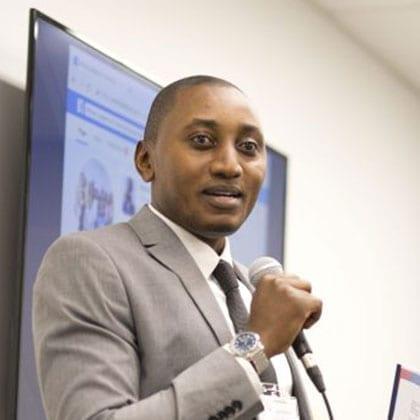 Photo of Christian M. Nkunzi