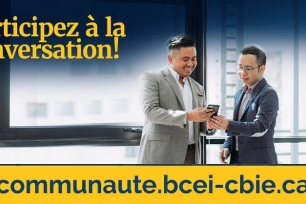Le Bureau canadien de l'éducation internationale lance un carrefour communautaire en ligne
