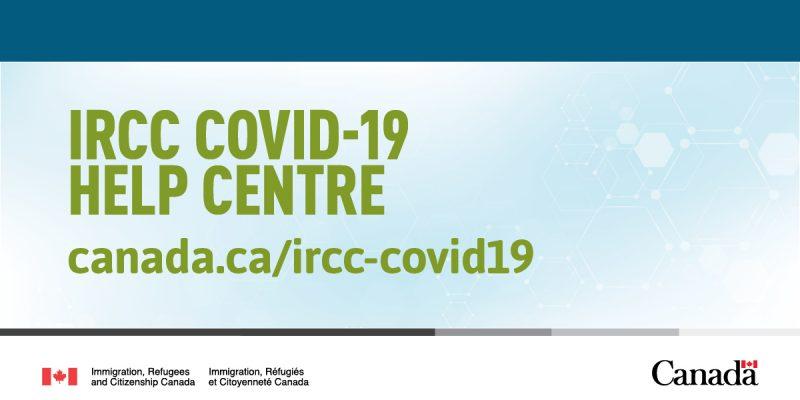 IRCC COVID