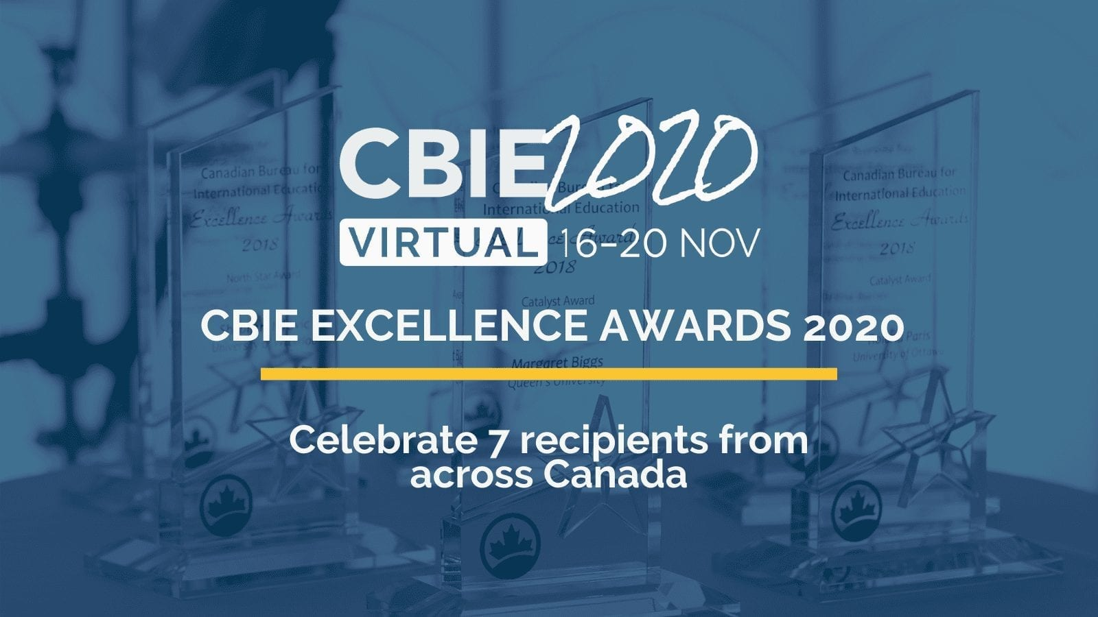 Canadian Bureau for International Education (CBIE) announces the winners of its 2020 Excellence Awards